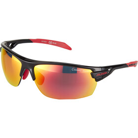 Alpina Tri-Scray Brille black-red